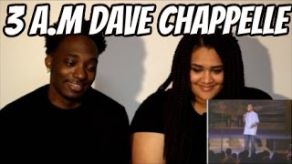 DAVE CHAPPELLE - 3 AM IN THE GHETTO | Reaction