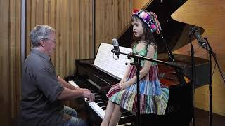 """Moon River"" by Emilie and Dad"