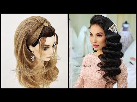 two-amazing-hairstyles-||-trendy-hair-||-party-hairstyles-||-lastest-hairdo