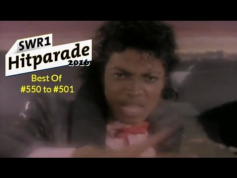 SWR 1 Hitparade 2016 - Best Of #550 to 501 (Pt. XI)