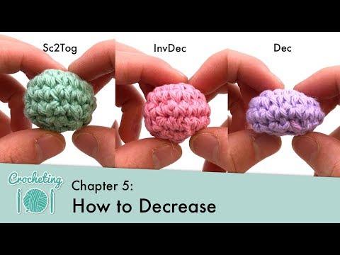 How To Decrease In Crochet