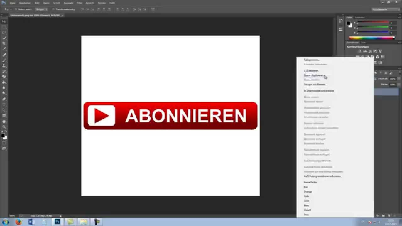 Photoshop Hintergrund Photoshop Hintergrund Transparent Machen Hd Tutorial