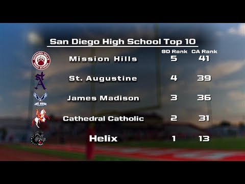 San Diego High School Football Preseason Top 10