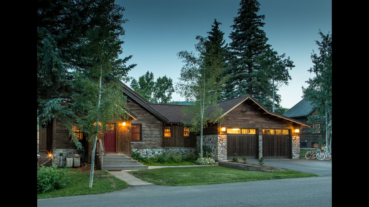 Sold - Old Meets New In Redesigned Crawford Ave Home, Steamboat