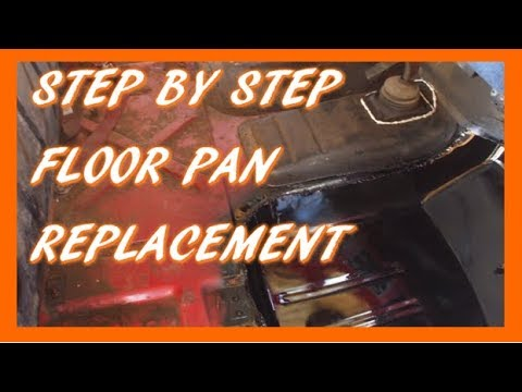 Video Clip Hay 1997 Jeep Tj Floor Pan Rust Removal And