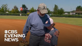 Baseballs bring 3 generations together in Alabama