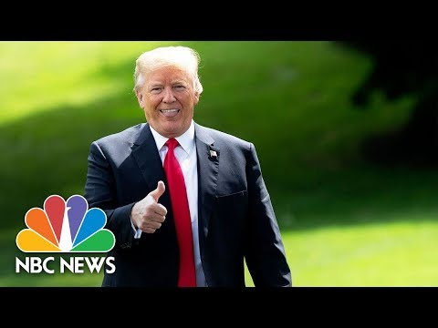 President Donald Trump Speaks At Sports And Fitness Day | NBC News