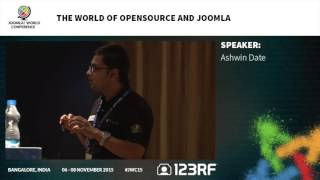 JWC15 - The World of OpenSource and Joomla