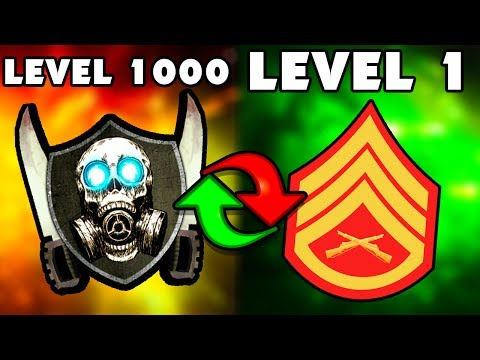 """ASCENSION"" ROUND 100 OR I RESET MY LEVEL 1000 STATS (Black Ops 3 Zombies)"