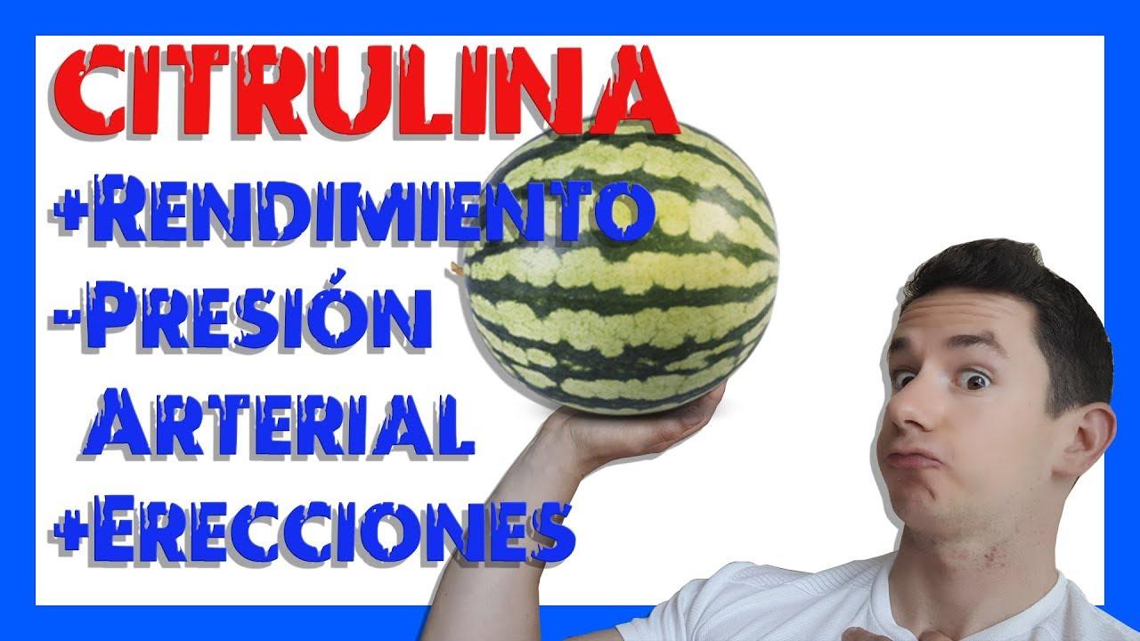 erección de arginina y citrulina