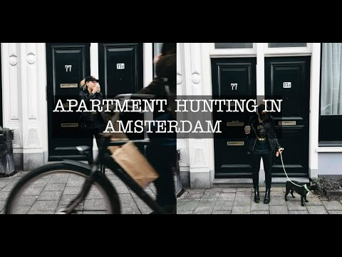 WEEKLY VLOG || APARTMENT HUNTING IN EUROPE (AMSTERDAM) || EU