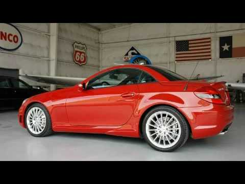 Preowned 2005 Mercedes-Benz SLK55 AMG Dallas TX - YouTube