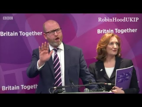 BBC booed and heckled at UKIP manfesto launch for vile question