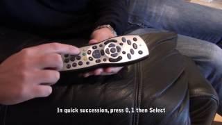 How to - Single feed mode - Sky+HD box