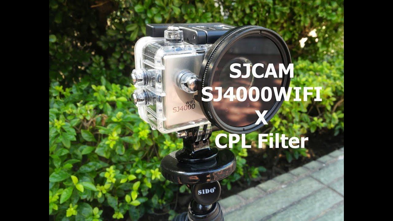 SJCAM SJ4000 WIFI With GOPRO Hero 3 Waterproof Case To