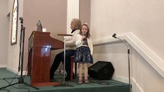 "Kemper Sings ""This Little Light of Mine"" & ""Jesus Loves Me"""