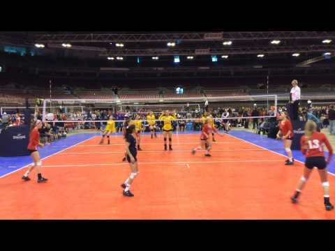 2015 Nike Mideast Qualifier Match 7 Set 1 Revolution 13 Adidas