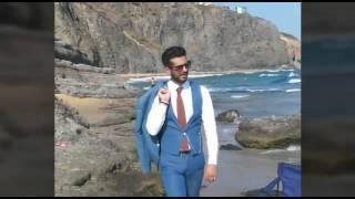 Erkek denim takım Elbise