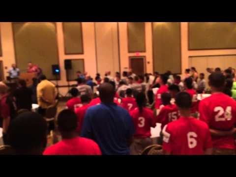2015 AABC Pee Wee Reese World Series Inaguration