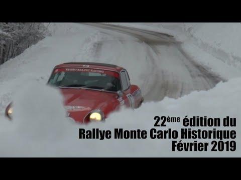 22ème édition du Rallye Monte Carlo Historique   février 2019