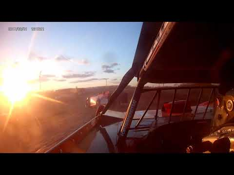 Chad White Heat race, I-96 Speedway, 4-26-19