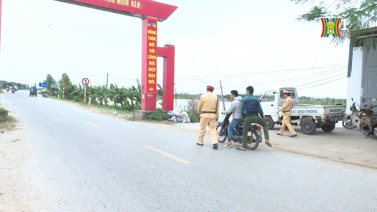 Tăng cường đảm bảo an toàn giao thông cuối năm tại huyện Thanh Oai   Camera 141