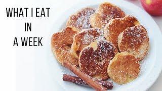 What I Eat in a Week // Vegan + Easy