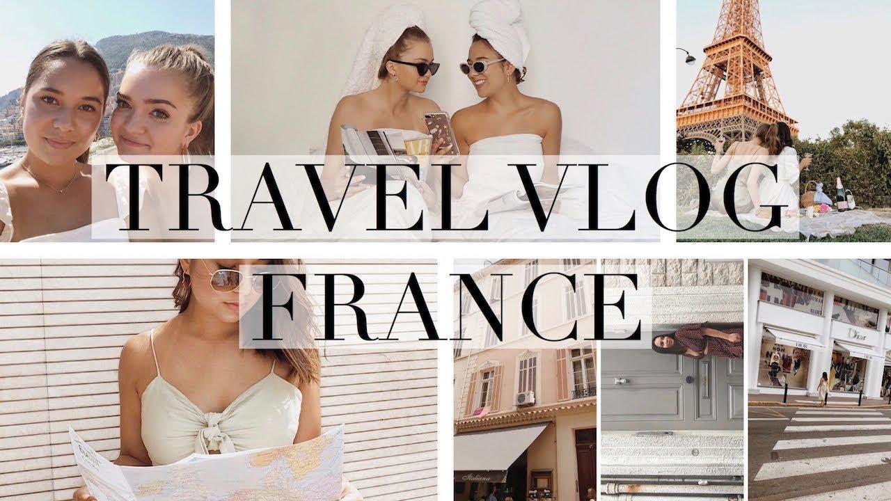 FRANCE TRAVEL VLOG - Paris, Cannes, Nice, Monaco!