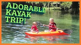 KIDS KAYAKING ALONE!!??