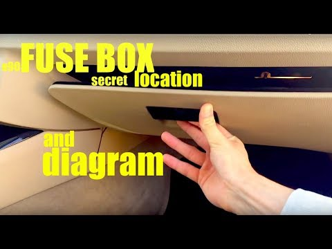 where is the fuse box location in a bmw e90 and full diagram if youwhere is the fuse box location in a bmw e90 and full diagram if you ever need it ! youtube