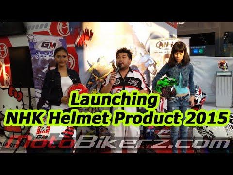 Launching NHK Helmet Product 2015