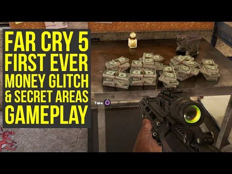 Far Cry 5 Gameplay Secret Areas & Money Farm Tactic Far Cry 5   Farcry5  Farcry 5