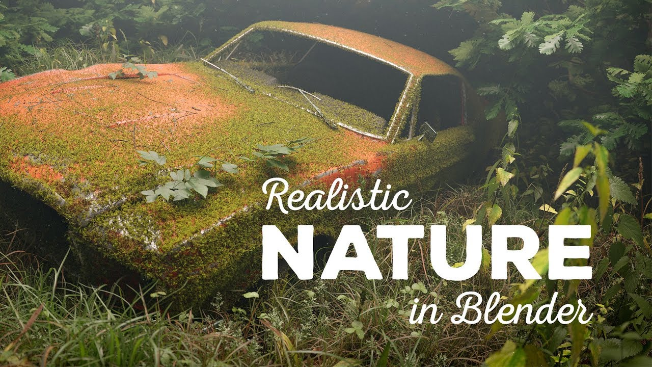 Create Realistic Nature in Blender (Graswald Add-on) - CG Boost