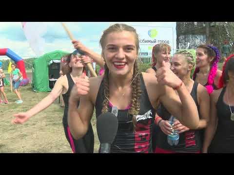 В Юрге прошло главное спортивное событие этого лета - Гонка Сибиряков. Лето 2019