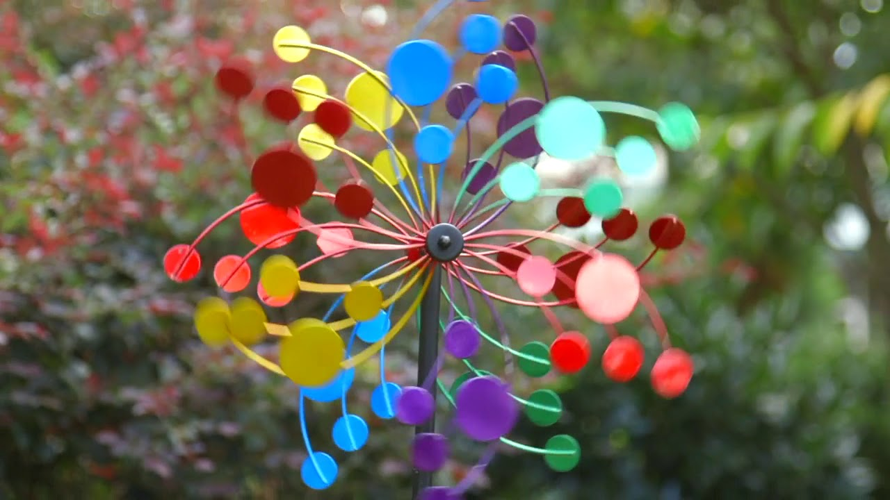 Kinetic Wind Spinners From Evergreen Garden Youtube
