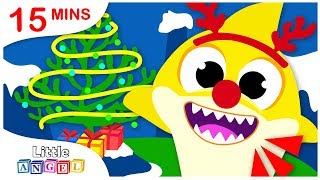 Baby Shark Christmas Special, Rudolph the Red Nose Reindeer Nursery Rhymes by Little Angel