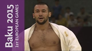 Kamal Khan-Magomedov wins the Men -66kg | Judo | Baku 2015