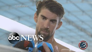 Michael Phelps to race great white to kick off 'Shark Week'