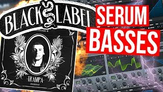 MAKING NSD BLACK LABEL BASS IN SERUM TUTORIAL (SPACE LACES / TRAMPA / EXCISION)