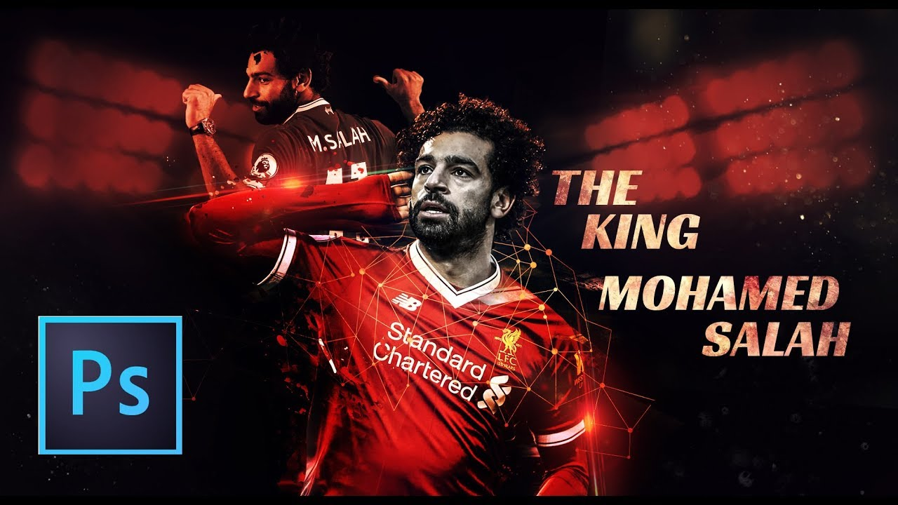Photoshop Tutorial || Mohamed Salah The king