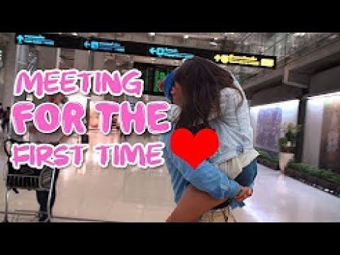 first time meeting long distance relationship airport First time,long distance relationship,tips but over time in a long-distance relationship when you're stuck in a meeting halfway across the world.
