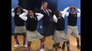 "Ron Clark and Students in Atlanta Georgia ""JuJu on That Beat"""