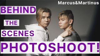 Marcus&Martinus - Behind the scenes on photoshoot!