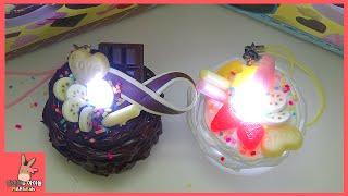 불이 나는 생크림 케이크 만들기 ♡ LED 생크림 케이크 DIY 장난감 만들기 놀이 How To Make Light Candle Cake | 말이야와아이들 MariAndKids