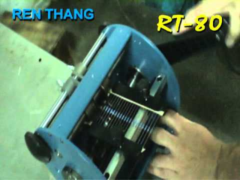 RT-80  Axial Lead Forming Machine By Hand Crank