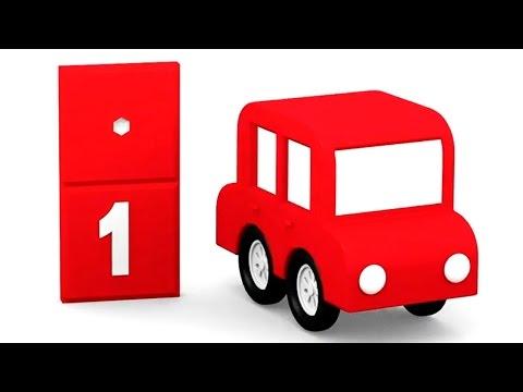 Die 4 Kleinen Autos Farben Und Zahlen 10 Episoden Am Stück