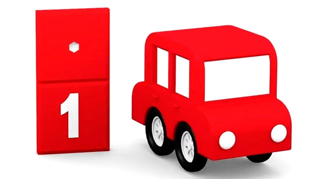 die 4 kleinen autos farben und zahlen 10 episoden am st ck spa ohne ende youtube. Black Bedroom Furniture Sets. Home Design Ideas