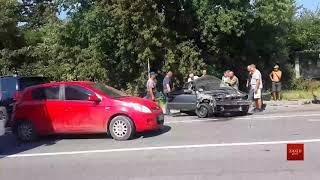 Очевидці зняли на відео Петра Димінського на місці смертельного ДТП