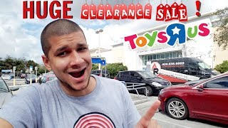 Toysrus Toy Hunting Vlog #6 - Huge Clearance Sale Fail!