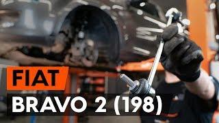 Jak i kiedy wymienić Drążek wspornik stabilizator przednie prawy FIAT BRAVO II (198): instrukcje wideo